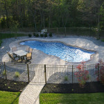 Fiberglass Swimming Pool Paint Color Finish Sapphire Blue 21