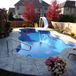 Fiberglass Swimming Pool Paint Color Finish Sapphire Blue 22