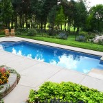 Fiberglass Swimming Pool Paint Color Finish Sapphire Blue 23
