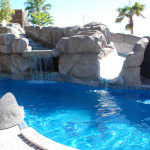 Fiberglass Swimming Pool Paint Color Finish Sapphire Blue 25