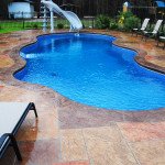Fiberglass Swimming Pool Paint Color Finish Sapphire Blue 26