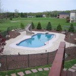 Fiberglass Swimming Pool Paint Color Finish Sapphire Blue 28