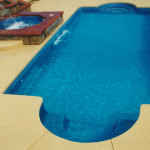 Fiberglass Swimming Pool Paint Color Finish Sapphire Blue 3