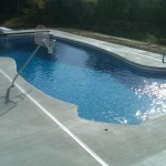 Fiberglass Swimming Pool Paint Color Finish Sapphire Blue 30