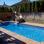 Fiberglass Swimming Pool Paint Color Finish Sapphire Blue 32
