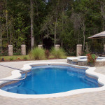 Fiberglass Swimming Pool Paint Color Finish Sapphire Blue 37