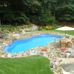Fiberglass Swimming Pool Paint Color Finish Sapphire Blue 38