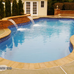 Fiberglass Swimming Pool Paint Color Finish Sapphire Blue 39