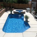 Fiberglass Swimming Pool Paint Color Finish Sapphire Blue 4