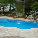 Fiberglass Swimming Pool Paint Color Finish Sapphire Blue 40