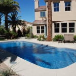 Fiberglass Swimming Pool Paint Color Finish Sapphire Blue 43