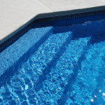 Fiberglass Swimming Pool Paint Color Finish Sapphire Blue 44