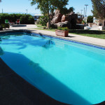 Fiberglass Swimming Pool Paint Color Finish Sapphire Blue 45