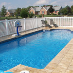 Fiberglass Swimming Pool Paint Color Finish Sapphire Blue 47