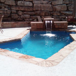 Fiberglass Swimming Pool Paint Color Finish Sapphire Blue 49