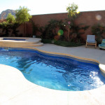 Fiberglass Swimming Pool Paint Color Finish Sapphire Blue 5