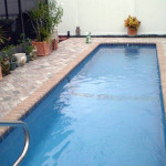 Fiberglass Swimming Pool Paint Color Finish Sapphire Blue 51