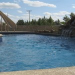 Fiberglass Swimming Pool Paint Color Finish Sapphire Blue 52