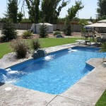 Fiberglass Swimming Pool Paint Color Finish Sapphire Blue 53