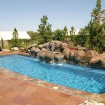 Fiberglass Swimming Pool Paint Color Finish Sapphire Blue 54