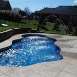 Fiberglass Swimming Pool Paint Color Finish Sapphire Blue 6