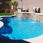 Fiberglass Swimming Pool Paint Color Finish Sapphire Blue 9