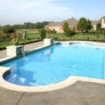 Fiberglass Swimming Pool Paint Color Finish Viking Blue 2
