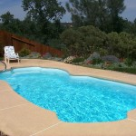 Fiberglass Swimming Pool Paint Color Finish Viking Blue 6