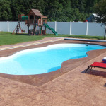 Fiberglass Swimming Pool Paint Color Finish Whisper White 10