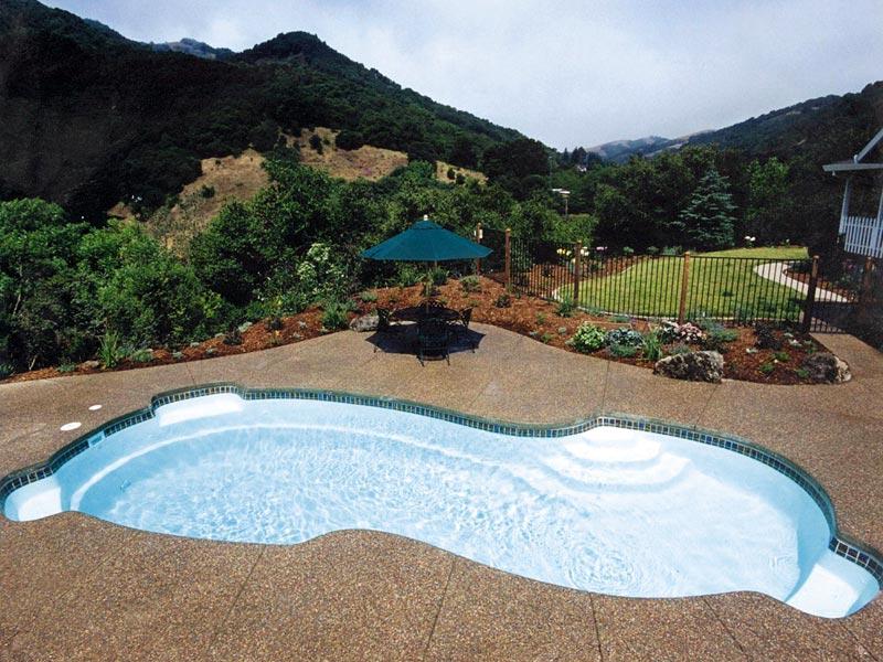 Fiberglass Swimming Pool Paint Color Finish Whisper White