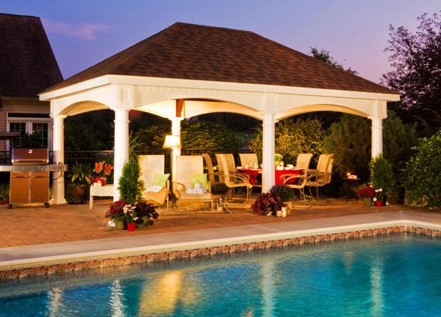 gazebos pergolas pavilions patio sets designs dc md va 10
