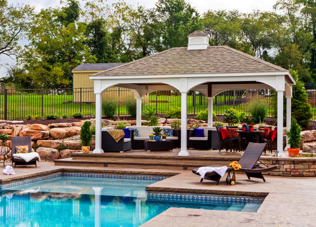 Gazebos, Pergolas & Pavilions Patio Sets in DC, MD & VA
