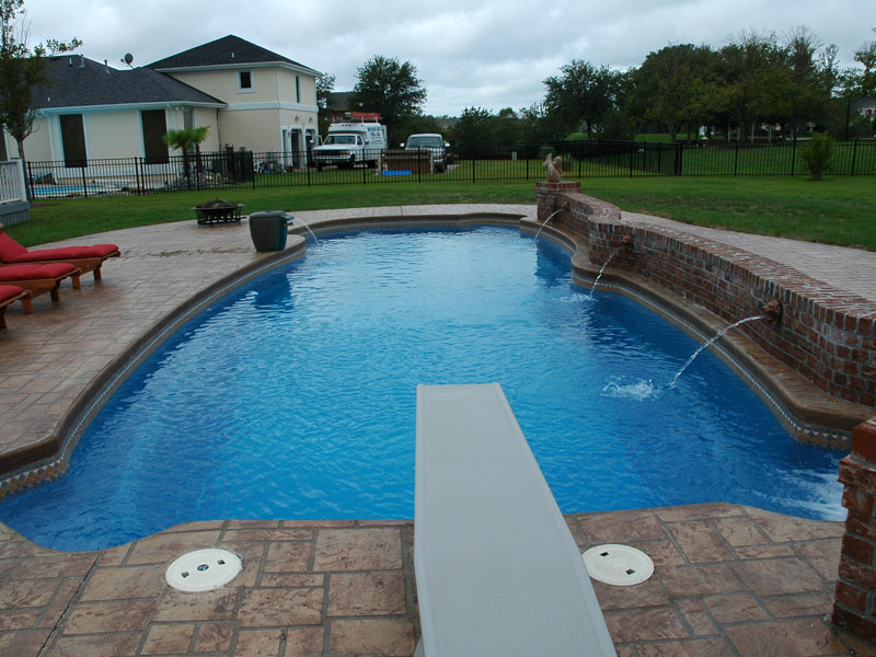Above ground pool steps quotes for Fiberglass drop in pools prices