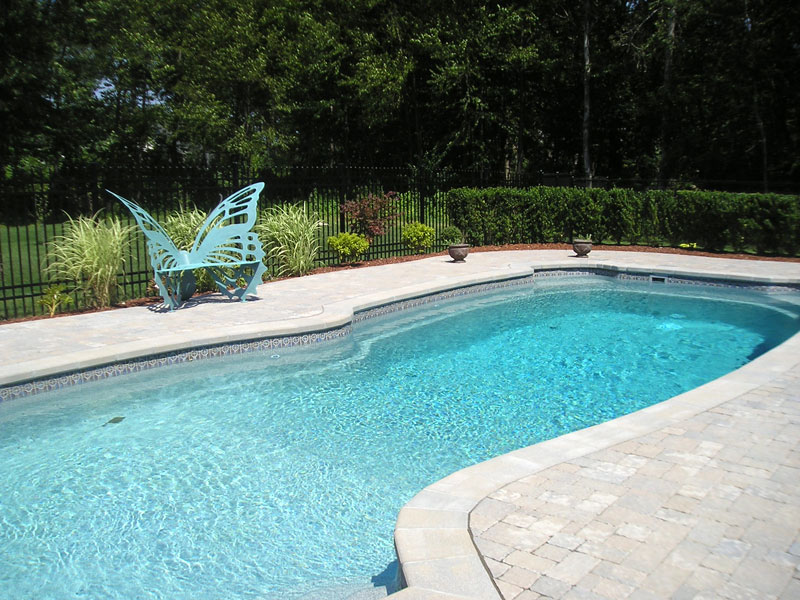 Gulf coast large inground fiberglass viking pool 62 calm for Large inground pools
