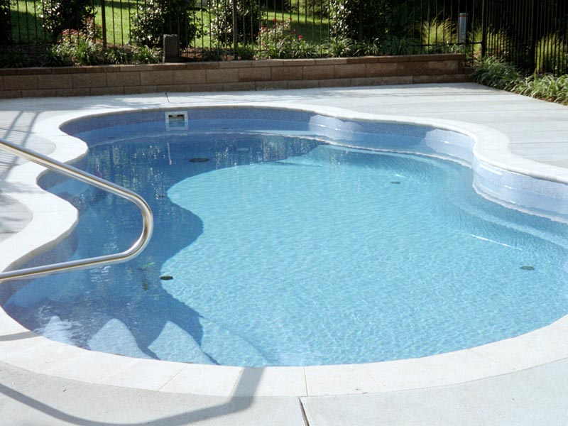 Swimming Pool In Floor Cleaning System : In floor fiberglass pool cleaning circulation systems