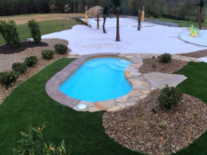 Small Pool Sizes Viking Inground Fiberglass Swimming Pools