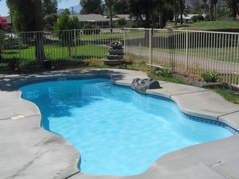Key West Medium Inground Fiberglass Viking Pool 25 Calm