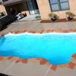 Key West Medium Fiberglass Inground Viking Swimming Pool