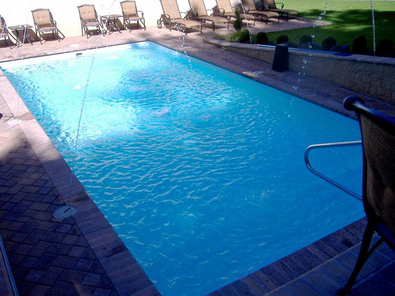 Kingston Large Fiberglass Inground Viking Swimming Pool