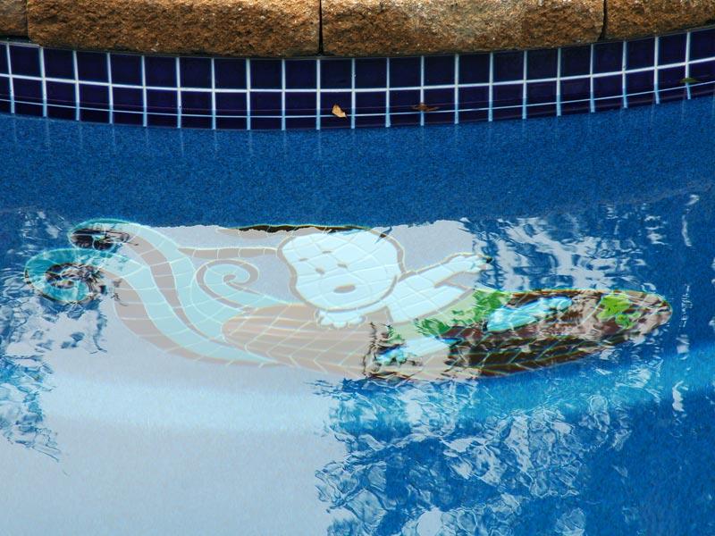 Mosaics For Viking Fiberglass Inground Swimming Pools