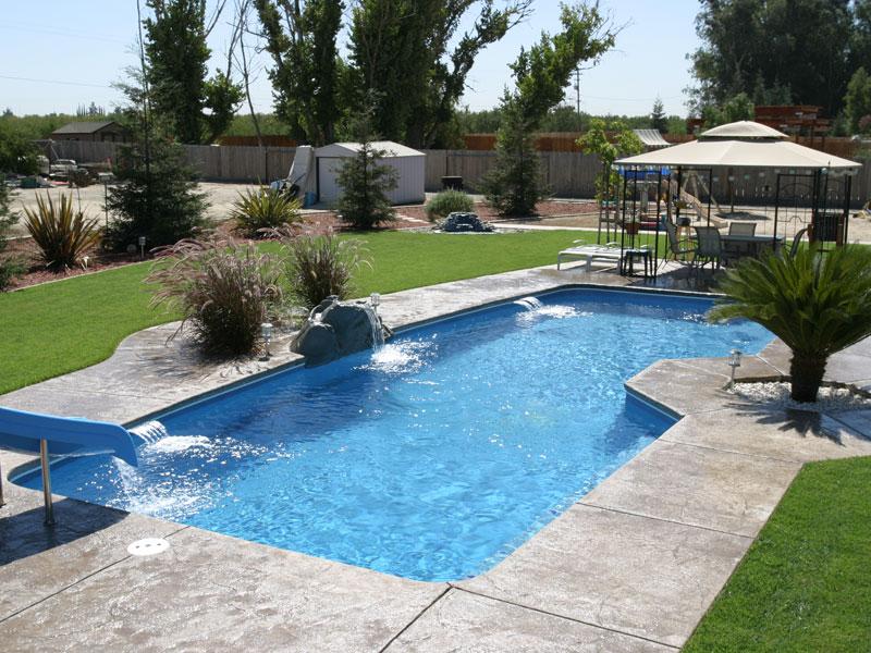 Poseidon large fiberglass inground viking swimming pool - In ground swimming pools for sale near me ...