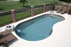 St. Lucia Medium Inground Fiberglass Viking Pool