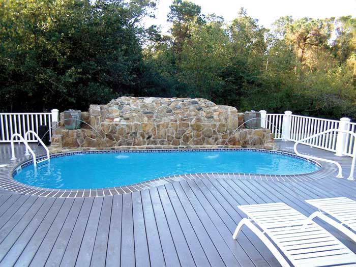 Valencia Large Fiberglass Inground Viking Swimming Pool