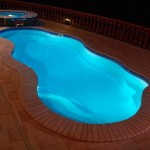 Viking Fiberglass Inground Swimming Pool Lighting 13