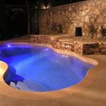 Viking Fiberglass Inground Swimming Pool Lighting 14