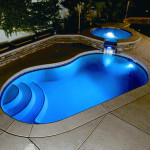 Viking Fiberglass Inground Swimming Pool Lighting 22
