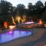 Viking Fiberglass Inground Swimming Pool Lighting 8