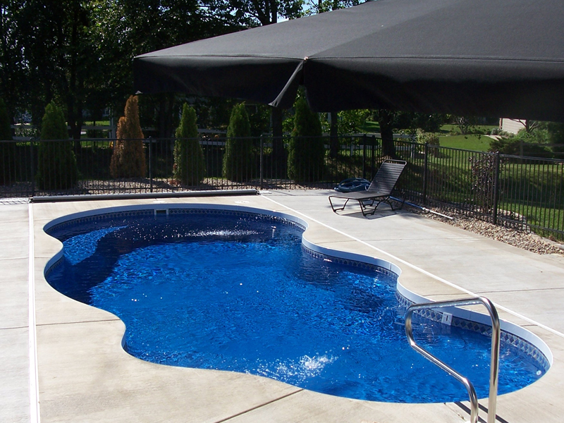 Viking fiberglass inground swimming pool streams for Fiberglass inground swimming pools