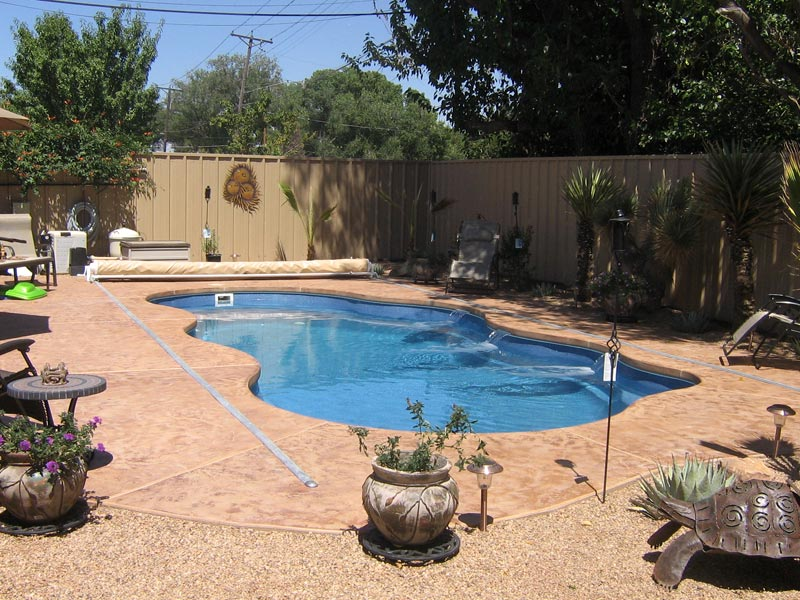 Swimming pool cascades in maryland virginia dc for Pool design virginia