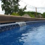 Viking Fiberglass Swimming Pool Cascades 8